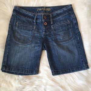 American Eagle Denim Bermuda Shorts
